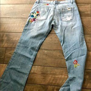 Joes Jeans embroidered